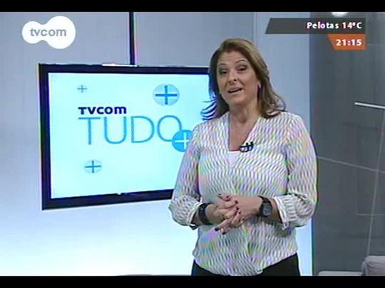 TVCOM Tudo Mais - Bella Falconi fala sobre seu programa de dieta e exercícios
