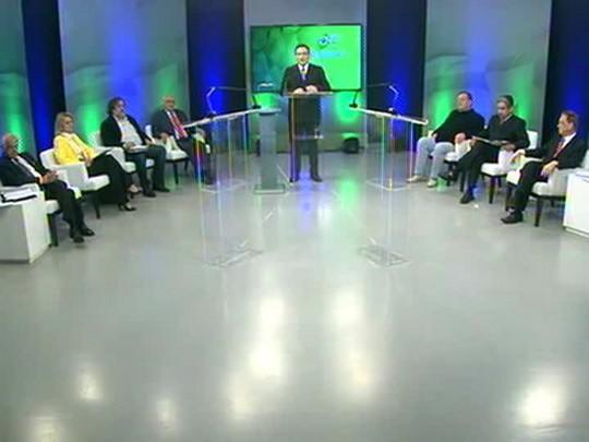 Eleições 2014 - Debate entre os candidatos ao Senado - bloco 2