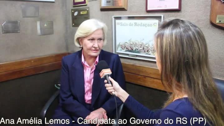 """Ana Amélia: \""""Sonho em ser a governadora que vai erradicar o analfabetismo no RS\"""""""