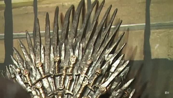 "O trono mais cobiçado de ""Game of Thrones\"" em Paris"