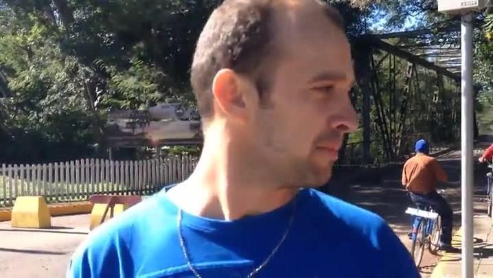 Entrevista com o motorista que sobreviveu a queda da ponte em Jaguari