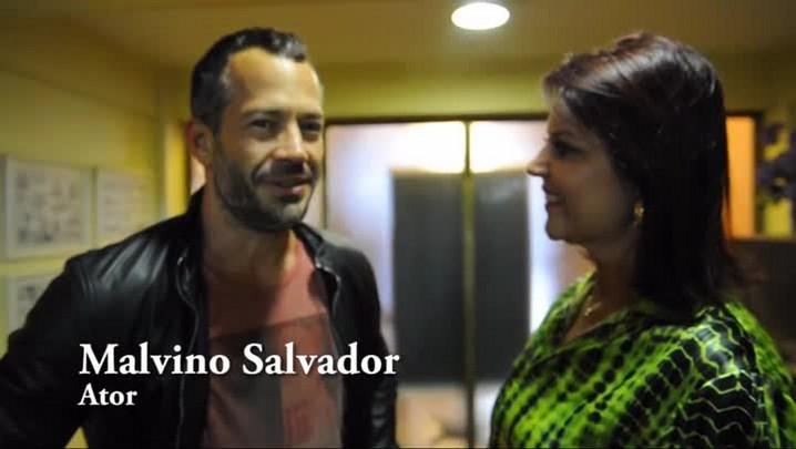 Maristela Moura entrevista ator Malvino Salvador em Santa Maria
