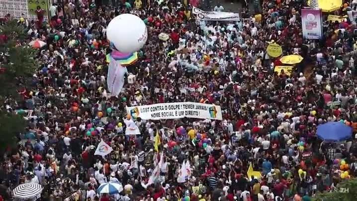 Parada do Orgulho LGBT em São Paulo