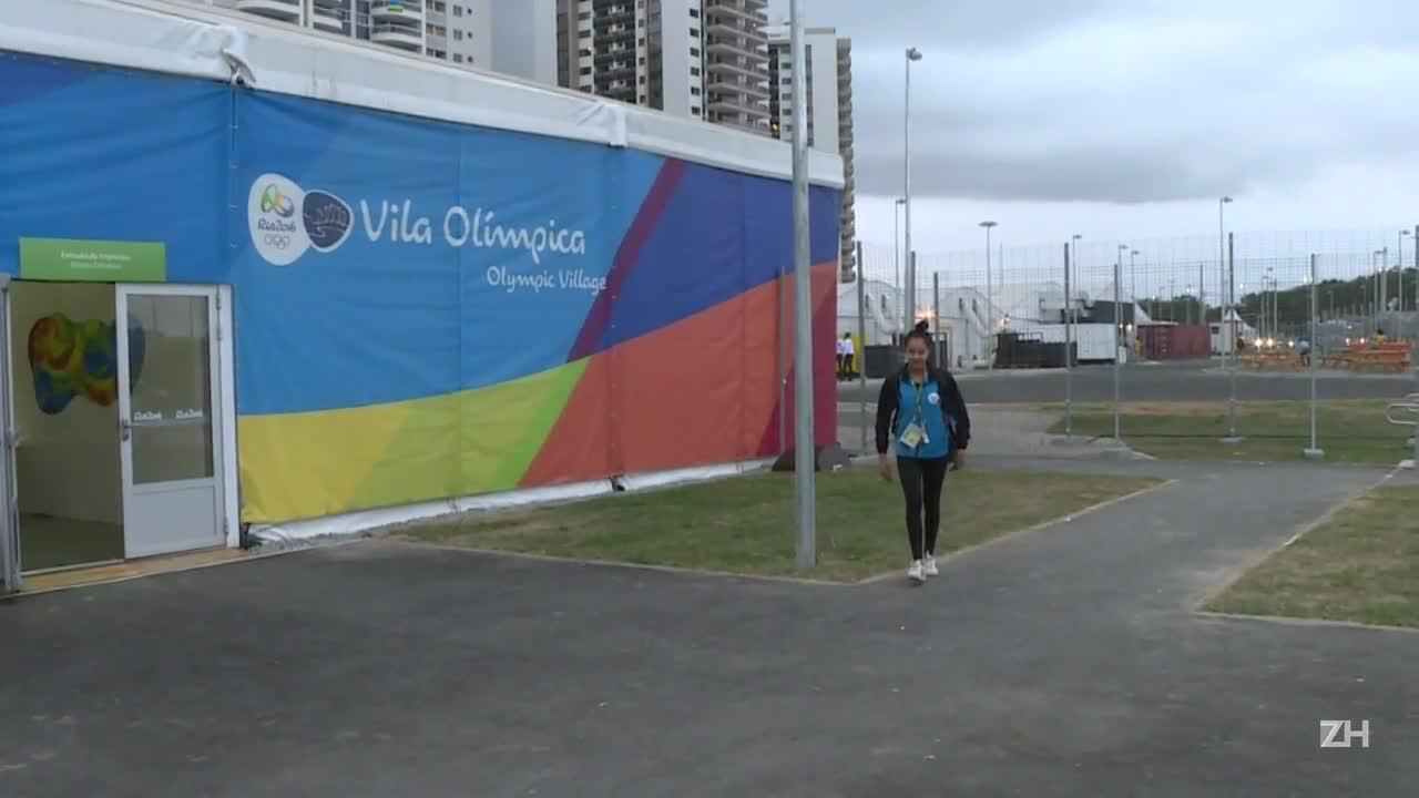 A atleta mais jovem do Rio