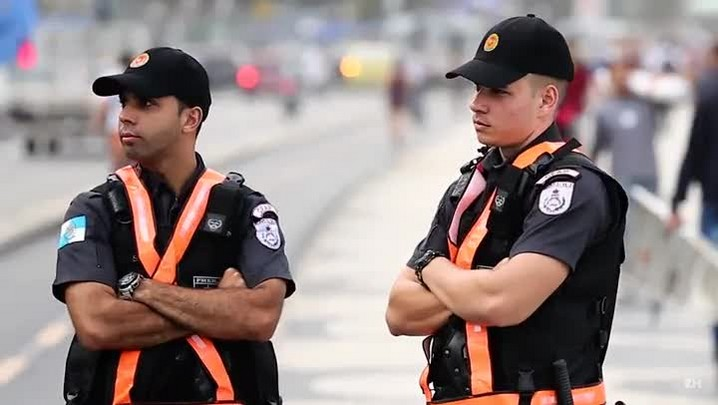 OlimPiagers: segurança para turista ver