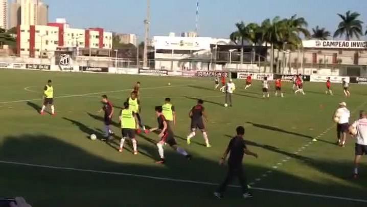 Inter treina para enfrentar o Fortaleza