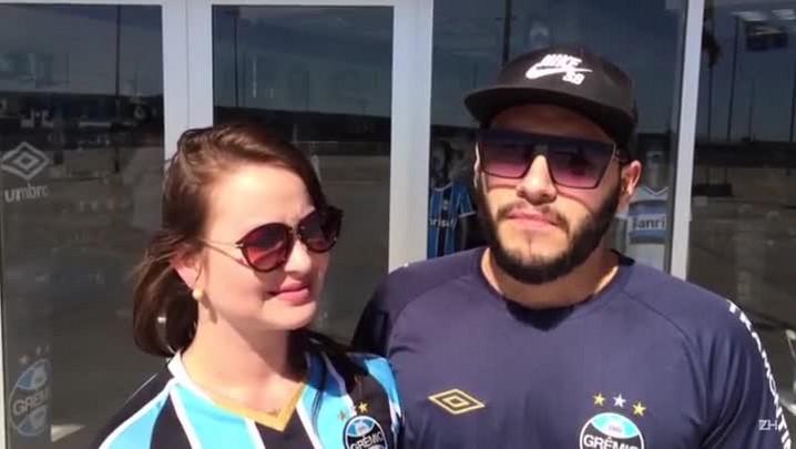 Sabrina Flores e Douglas Flores perguntam ao novo presidente do Grêmio a respeito de reforços