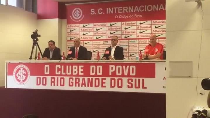 Direção do Inter e técnico Antônio Carlos projetam temporada 2017