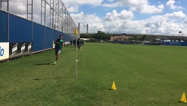 Grêmio faz treino físico no CT Luiz Carvalho