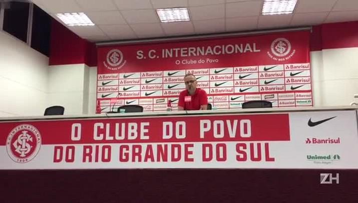 Vice do Inter fala sobre contratações e sequência de jogos