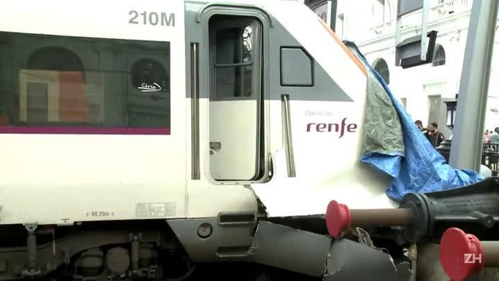 Acidente de trem deixa 54 feridos na Espanha