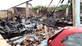 Incêndio atinge ferro-velho na zona Sul de Joinville
