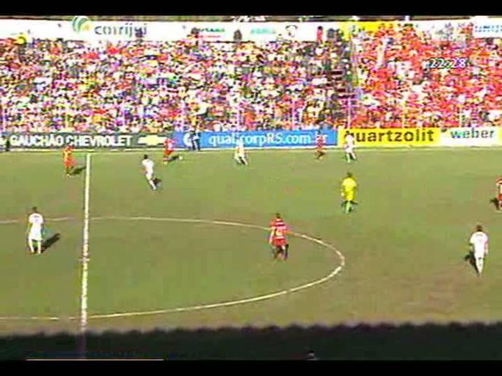Bate Bola - Goleada de 5x0 do Inter sobre o São Luiz em Ijuí - Bloco 5 - 10/03/2013