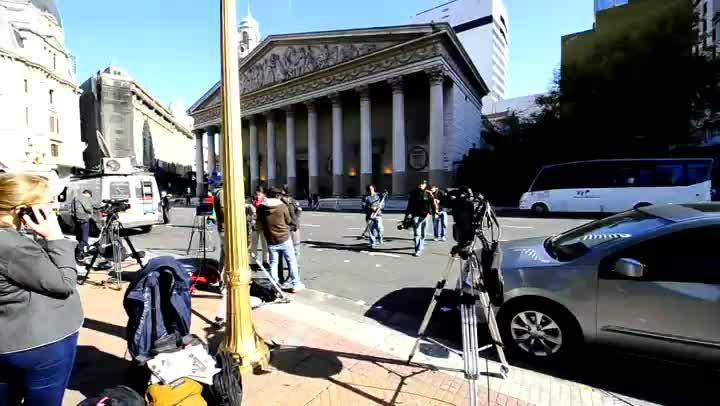 Jornalistas ocupam a capital argentina