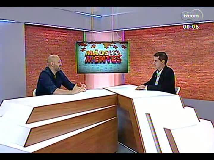 Mãos e Mentes - Especialista em Marketing e Branding em Ambientes Digitais e cientista-chefe na Pong Dynasty, Ricardo Cappra - Bloco 4 - 09/04/2013