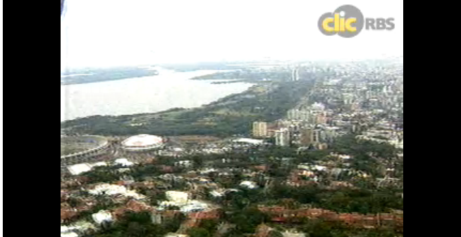 Ao vivo Trânsito Centro de Porto Alegre.