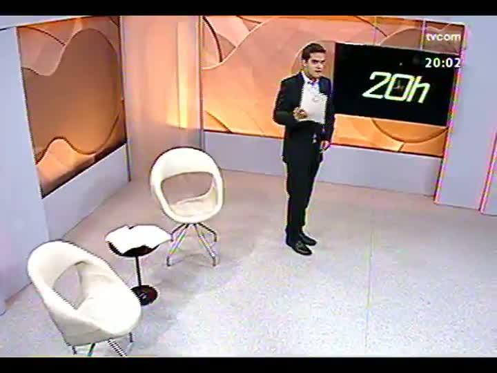 TVCOM 20 Horas - Dilma anuncia investimentos de mais de R$ 2 bi em rodovias no RS - Bloco 1 - 12/04/2013