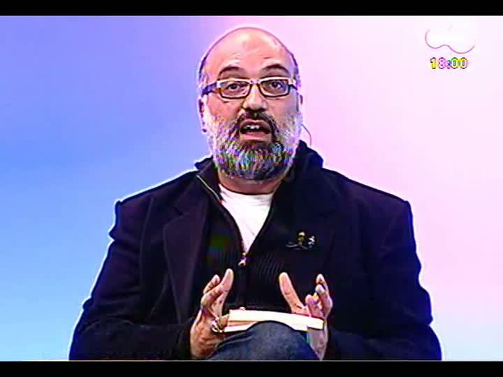 Programa do Roger - Escritor Breno Serafini fala de livro sobre Millôr Fernandes - bloco 2 - 03/06/2013