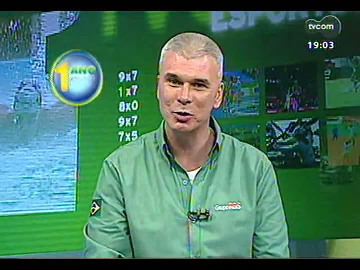 """TVCOM Esportes - Especial \""""1 ano para a Copa\"""": Maurício Saraiva fala dos preparativos com Luiz Zini Pires e Lauro Quadros - Bloco 1 - 12/06/2013"""