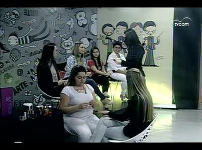 TVCOM Tudo Mais – Quadro Saúde e Beleza - 4º bloco – 02/10/2013