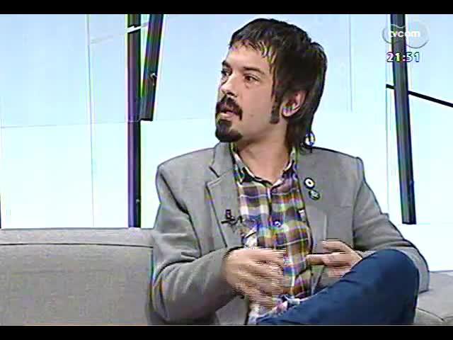 TVCOM Tudo Mais - Lúcio Brancato fala sobre o show do Black Sabbath e o DVD e CD ao vivo da Vera Loca