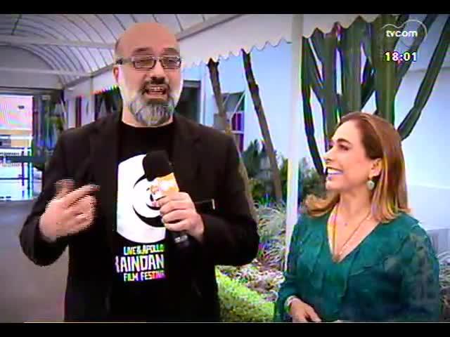 Programa do Roger - Entrevista com a atriz Cissa Guimarães - bloco 2 - 18/10/2013