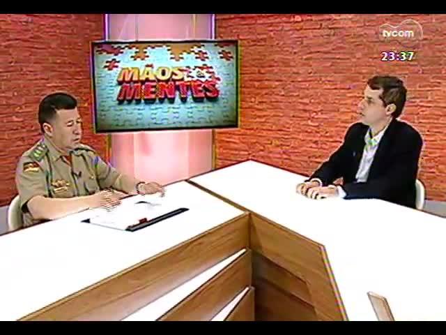 Mãos e Mentes - Comandante do Corpo de Bombeiros, Guido Pedroso de Melo - Bloco 4 - 20/10/2013
