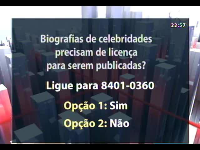 Conversas Cruzadas - Biografias de celebridades precisam de licença para serem publicadas? - Bloco 3 - 31/10/2013