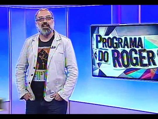 Programa do Roger - Bate-papo e um pouco do som da banda Cartolas - bloco 1 - 04/12/2013