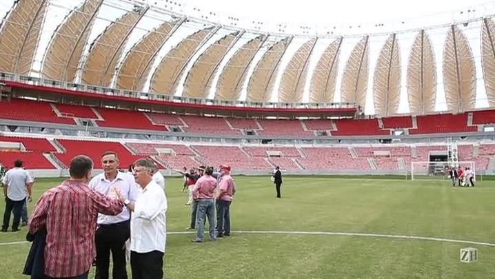 Inter se reapresenta no novo Beira Rio