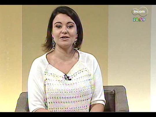 TVCOM Tudo Mais - Aline Mendes dá dicas de sucos refrescantes