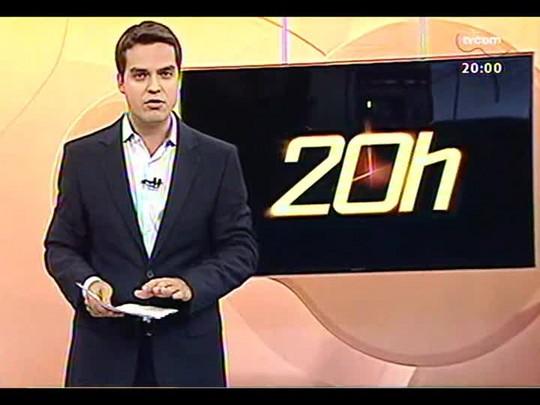 TVCOM 20 Horas - Reunião termina sem acordo e greve dos rodoviários continua em Porto Alegre - Bloco 1 - 28/01/2014