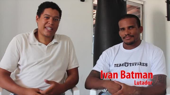 Ivan Batman representa SC no UFC Jaraguá