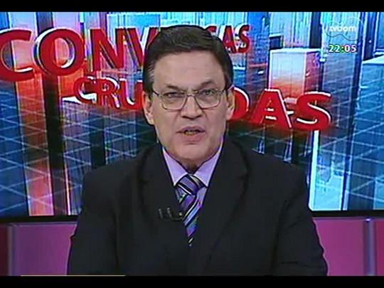 Conversas Cruzadas - Debate sobre o rebaixamento da nota da economia brasileira - Bloco 1 - 27/03/2014