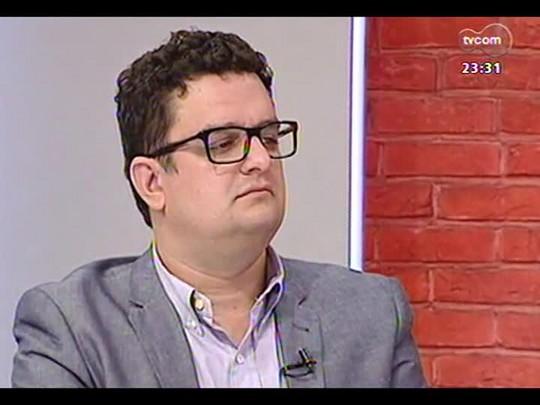Mãos e Mentes - Empresário e diretor Comercial da Egali Intercâmbio Guilherme Reischl - Bloco 2 - 14/04/2014