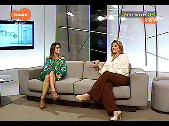 TVCOM Tudo Mais - Fernanda Pandolfi fala sobre projeto de hotel fashion em POA