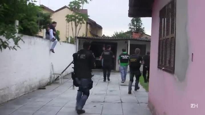 Operação prende quadrilha que roubava bancos