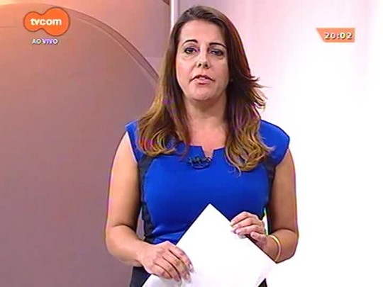 TVCOM 20 Horas - Após protestos, Dilma se manifesta e fala de crise econômica, direito a manifestação e pacote anticorrupção - 16/03/2015