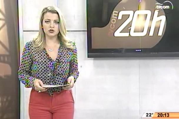 TVCOM 20 Horas - Está em Brasília o Plano de Trabalho para reconstrução das casas destruídas pelo tornado no Oeste do Estado - 06.05.15