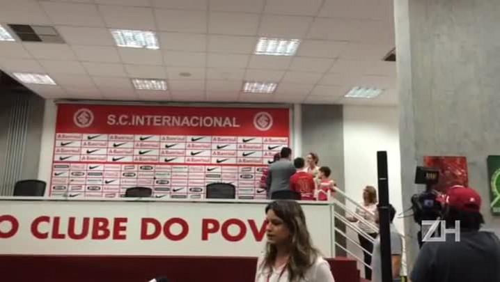 Homenagem a torcedor nº 700 mil do Inter