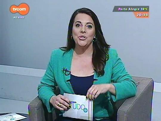 TVCOM Tudo Mais - Atriz Ana Rosa passa a limpo a carreira no palco do Tudo+