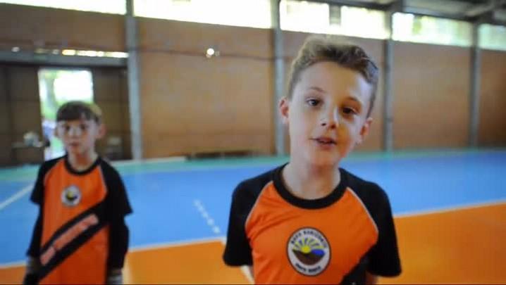 Conheça os jogadores do time sub-9 de futsal do Novo Horizonte