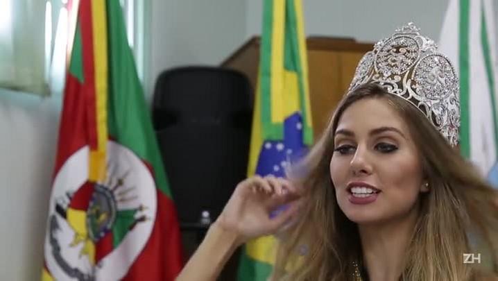 Miss Brasil dá recado a todos que torceram por ela