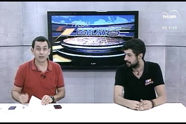 TVCOM Esportes. 4º Bloco. 14.01.16