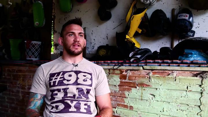 Ex-UFC Nazareno Malegarie fala da carreira e da chegada a Florianópolis