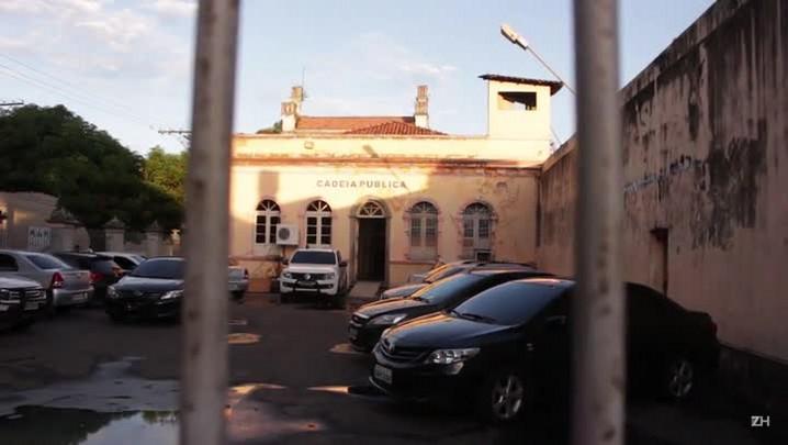 Presos são transferidos para cadeia desativada