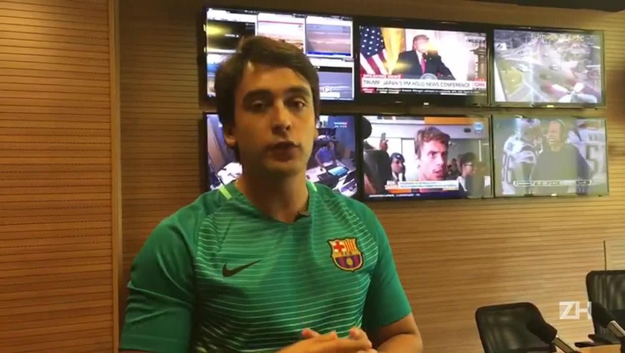 Marcos Bertoncello comenta histórico de Inter x Caxias