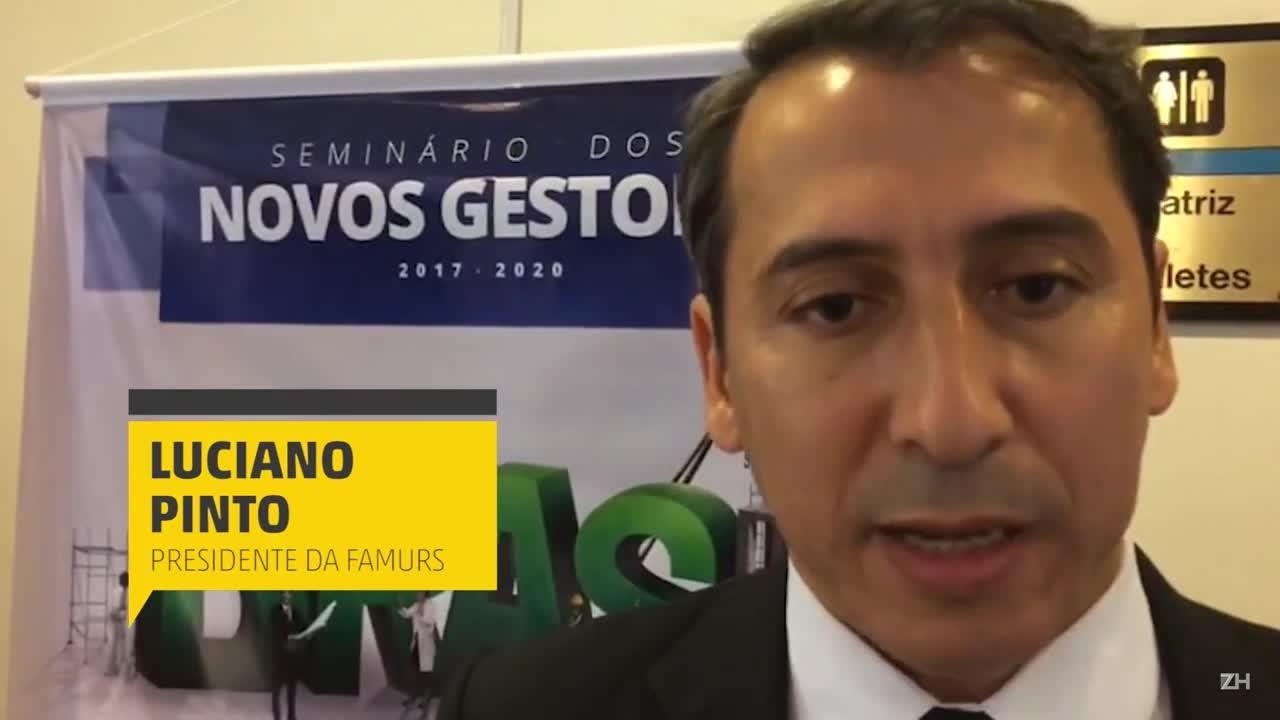 Presidente da Famurs fala sobre os principais desafios dos prefeitos gaúchos