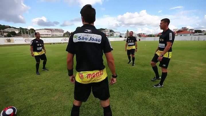 VÍDEO: Confira como foi o treinamento dos árbitros e assistentes para o Gauchão