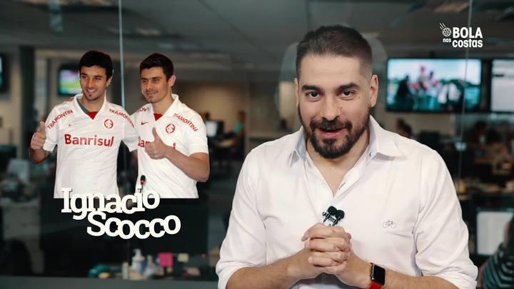 Bola nas Costas: O que todo colorado quer dizer hoje para o Scocco